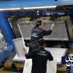 راه اندازی خط جدید تزریق فوم شرکت صنایع امرسان